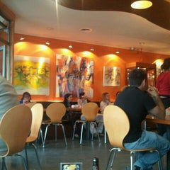 Photo taken at El Barista Caffé by Yared N. on 2/14/2012