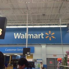 Photo taken at Walmart Supercenter by M@C on 5/12/2013