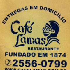 Photo taken at Café Lamas by Alex L. on 10/28/2012