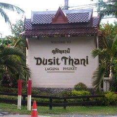 Photo taken at Dusit Thani Laguna Phuket by John R. on 12/11/2012