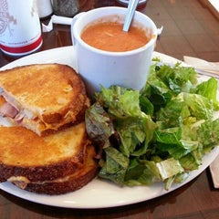 Photo taken at Boudin SF Metro Pointe by Cayme M. on 1/11/2013