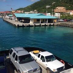 Photo taken at St. Thomas - St. John Ferry by Sandra F. on 9/28/2013