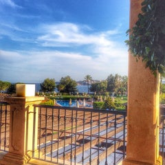Photo taken at The St. Regis Mardavall Mallorca Resort by @pureGLAMtv on 6/3/2014