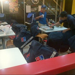 Photo taken at Domino's Pizza by shafIq A. on 12/21/2012