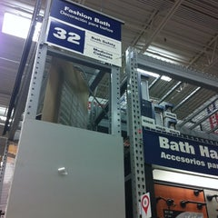 Photo taken at Lowe's Home Improvement by Marie F. on 4/16/2014