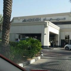Photo taken at Le Méridien Dubai by Thanzeem R. on 5/12/2015