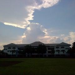 Photo taken at Al-Izhar Pondok Labu by Annissa A. on 10/9/2012