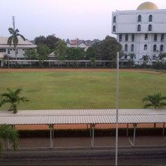 Photo taken at Al-Izhar Pondok Labu by Annissa A. on 9/18/2012