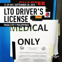Photo taken at LTO Driver's License Renewal Center by Don C. on 9/30/2015