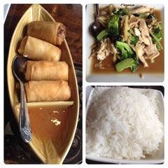Photo taken at Pasara Thai by Janet W. on 3/19/2014