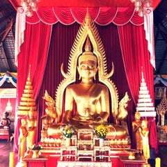 Photo taken at วัดหลวง (Wat Luang) by Pao S. on 10/21/2013