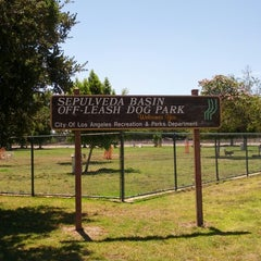 Photo taken at Sepulveda Basin Off-Leash Dog Park by Corey P. on 5/28/2013