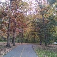 Photo taken at Bluemont Park by erika marlen g. on 11/4/2014