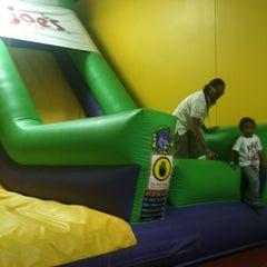 Photo taken at Monkey Joe's by Mario B. on 10/19/2012