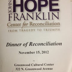 Photo taken at Greenwood Cultural Center by UrbanGM (David B.) on 11/16/2012