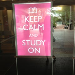 Photo taken at Snell Library by Carro H. on 6/16/2013