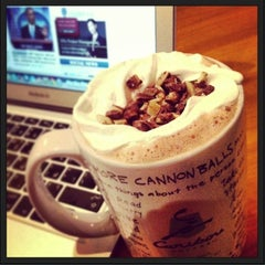 Photo taken at Caribou Coffee by Amir A. on 7/19/2013