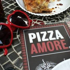 Photo taken at Pizza Amore by Ana V. on 10/28/2012