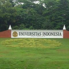 Photo taken at Universitas Indonesia by Ajeng P. on 3/21/2013
