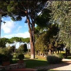 Photo taken at Relais Villa Acquaviva by Vizio on 10/14/2012