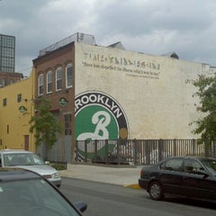 Photo taken at Brooklyn Brewery by Nicholas B. on 10/6/2012