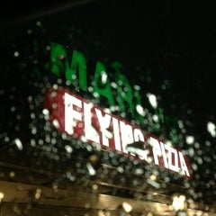 Photo taken at Mario's Flying Pizza by Shelly S. on 6/7/2013