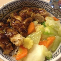 Photo taken at Yoshinoya by Cindy C. on 12/1/2012