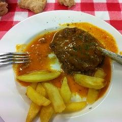 Photo taken at Deustuko Batzokia by Jon Kepa G. on 12/18/2012