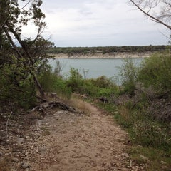 Photo taken at Lake Georgetown by Christopher G. on 4/5/2014