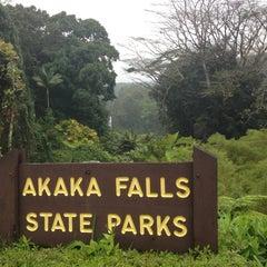 Photo taken at Akaka Falls State Park by Adam H. on 5/9/2013