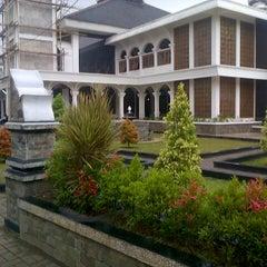 Photo taken at Masjid Agung Purwakarta by Jonni H. on 1/14/2013