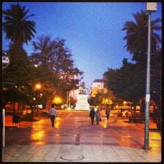 Photo taken at Paseo Independencia by Marcos O. on 3/26/2013