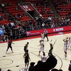Photo taken at Jon M. Huntsman Center by Jeremy W. on 3/9/2013