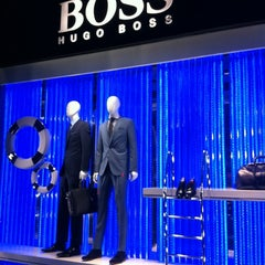 Photo taken at BOSS Store by Jean-Yves D. on 1/18/2013