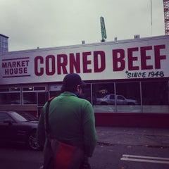 Photo taken at Market House Corned Beef by lara l. on 10/15/2015