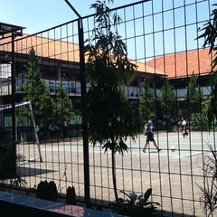 Photo taken at SMPN 45 Bandung by Aan S. on 9/2/2013