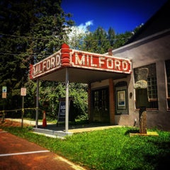 Photo taken at The Milford Theatre by Kyle R. on 7/26/2015