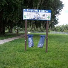 Photo taken at Kanapaha Veterans Memorial Park by Shelley S. on 8/19/2013