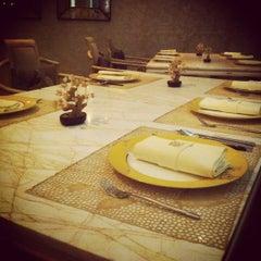 Photo taken at TABLE8 - Hotel Mulia Senayan, Jakarta by Natasha W. on 10/26/2012