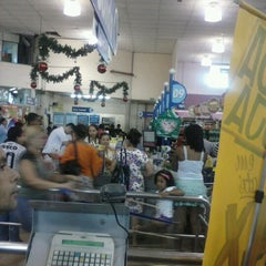 Photo taken at Lopes Supermercados by Andressa C. on 12/31/2012