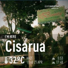 Photo taken at Cisarua by bonisitas on 4/21/2013