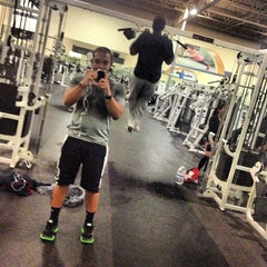 Photo taken at 24 Hour Fitness by Aaron M. on 1/6/2013