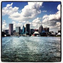 Photo taken at Inner Harbor by Tyler P. on 7/14/2013