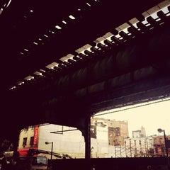 Photo taken at Williamsburg Bridge Bus Terminal by Stephan v. on 10/15/2014