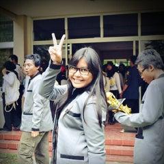 Photo taken at Fakultas Matematika dan Ilmu Pengetahuan Alam (MIPA) by Ella F. on 4/18/2014