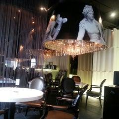Photo taken at Café de JURA by Hyemin N. on 9/15/2012
