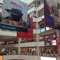 Photo taken at Funan DigitaLife Mall by Manuel G. on 12/1/2012