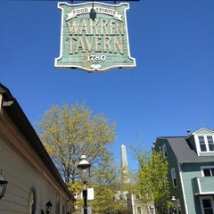 Photo taken at Warren Tavern by Nicole O. on 5/7/2013