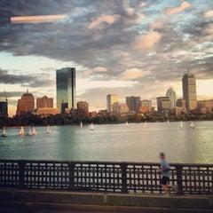 Photo taken at Longfellow Bridge by Spencer S. on 9/21/2012