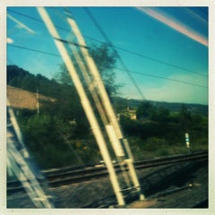 Photo taken at Confine Umbria-Lazio by Dario P. on 10/3/2012
